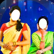 Women Saree Photo Suit - Saree Suit for girls 1.13