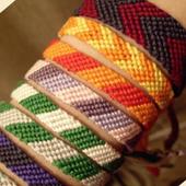 Плетение фенечек из трубочек 1.0