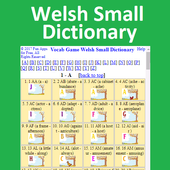 Vocab Game Welsh Small Dictionary 1.0