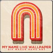 My Name Live Wallpaper : GIF Maker Name Art 1.2