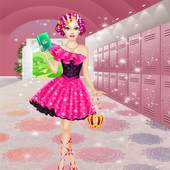 High School Dress Up Games For Girls & Make Up 1.0