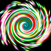 Glow Spin ArtNatenai AriyatrakoolCasual