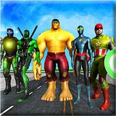 Superheroes vs Robots Battle - Zombie Aliens Fight 1.0