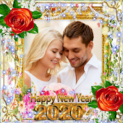 New Year Photo Frame New Year's greetings 2019 1.2