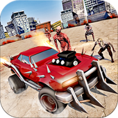 Road zombies smashing car killing games 1.0.3