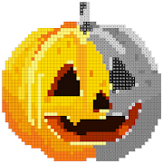 Halloween Sandbox Number Coloring- Color By Number 1.3