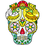 Tattoo Color by Number : Adult Coloring Book Pages 2.1