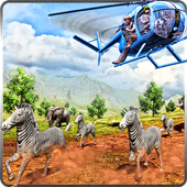 Animal Helicopter TransporterNation Games 3DAction
