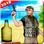 Us army bottle shooting training games 3d 1.0