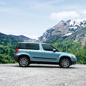 Wallpapers Skoda Yeti 1.0