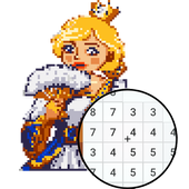 Princess Pixel Art - Coloring By Number 1.1