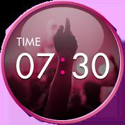 Clock Widget-MUSIC ART 1.0