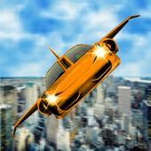 Futuristic Flying Car Simulator - Aim and Fire 2.4
