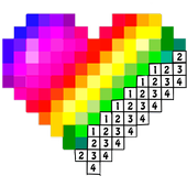 3D pixel Coloring art - Color By Number Book 1.3