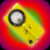 Geiger counter Simulator Fun 1