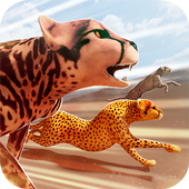 Leopard vs Lions Clan! - Wild Savannah Racing 1.6.1