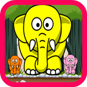 Elephant Games For Kids 1.0