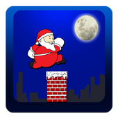 Santa Roof RunOnline Game FreeArcade