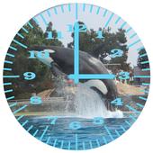 Killer Whale 2 Analog Clock 1.0