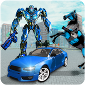 com.oreogames.us.police.car.robot.war.wild.horse.robot.transform icon