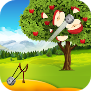 Apple Shooter : Slingshot Knockdown Shooting Games 6