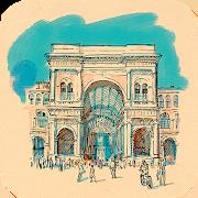 Милан. Аудиогид с альбомом 1.0