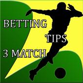 Betting Tips : 3 Match 9.0