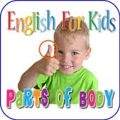 Bhs Inggris Anak  Bagian Tubuh 2.0
