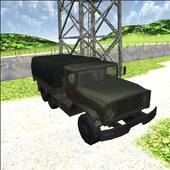Green Military Convoy Truck 1