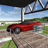 Red Dream Car-Real Steering