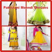 Pakistani Mehndi Dresses 1.0