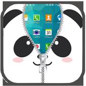 com.panda.lock.screen.zipper icon
