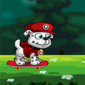 Paw Puppy Skater Jungle Run