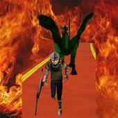 Castle Run-Temple Knight Crazy 1.0