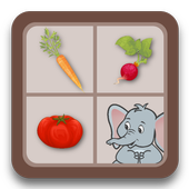 Jeu memory - les légumes 1.0