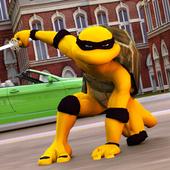 Flying Superhero Turtle Game in Ninja City 1.2