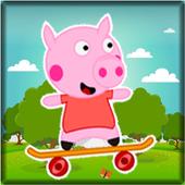 Peppa Happy Skate Pig 1