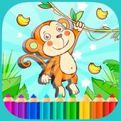 Bananas Monkey Coloring BooksNP DoubleSoft StudioAdventure