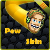 PewDiePie Skin for slither.io 1.4