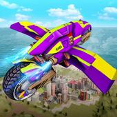 Futuristic Robot Flying Bike War Simulator 1.1.1