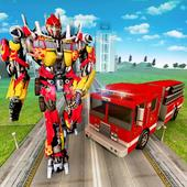 Robot Firefighter Truck Rescue City War 1.1.1