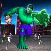 Green Monster Hero Fighter Crime City Battle 1.1.1