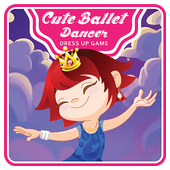 Cute Ballet Dancer Dress Up