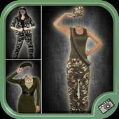 Women Army Suit Photo Maker 1.0