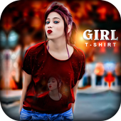 Girl T Shirt Photo Frame 1.0
