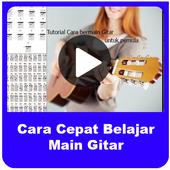 Cara Cepat Belajar Bermain Gitar 1.0