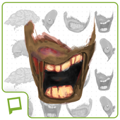 Zombie Faces - Pickld Stickers 1.0