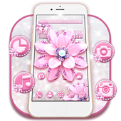 Pink Diamond Flower Theme 1.1.2