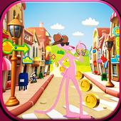 Panter Skater In Pink World 1.0