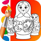 Matryoshka Coloring Book 1.3